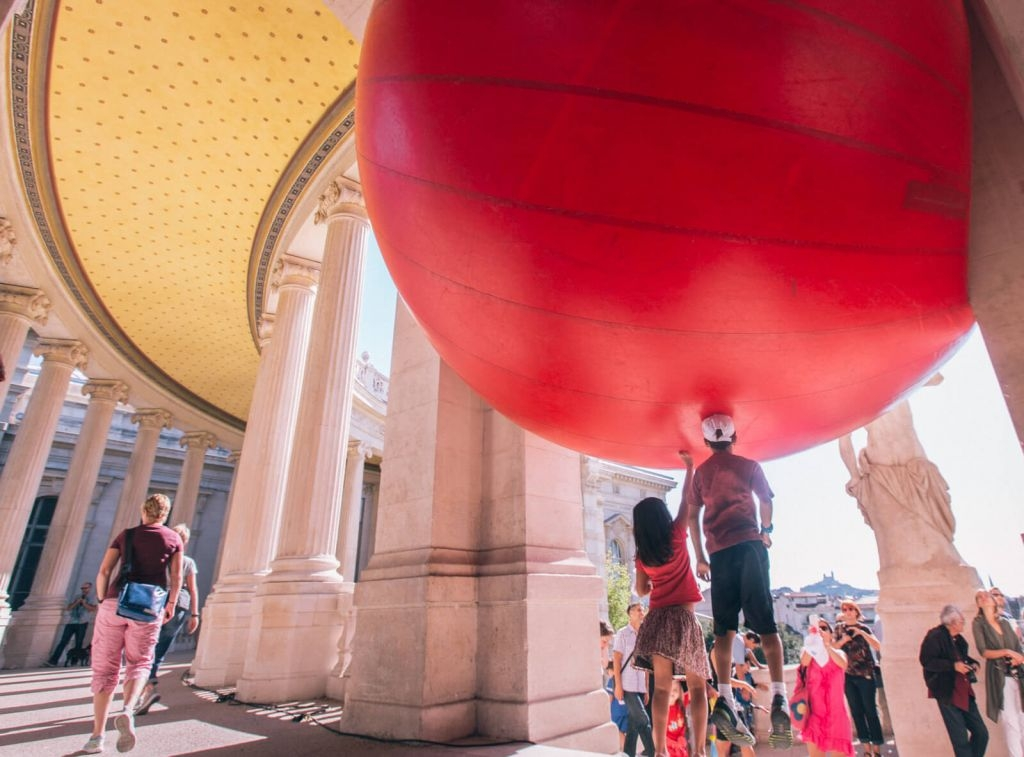 Red Ball in Marseille
